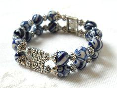 delft blue bracelet delft blue jewelry blue bracelet by minouc