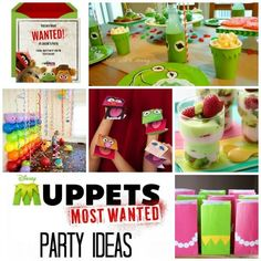 Muppets Most Wanted Party Ideas #muppets #todaysmama