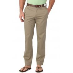 Southern Tide Channel Marker Sandstone Khaki Classic Fit Pants Summer Weight  #SouthernTide #KhakisChinos