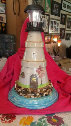 Clay pot lighthouse                                                                                                                                                      More