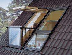 ventanas balcón velux