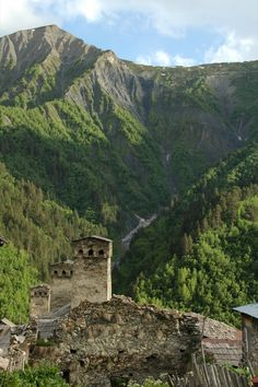 Svan Towers  - Svaneti, Georgia, Caucasus Mountains