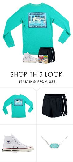 """""""I want some cupcakes..."""" by preppyandsouthern17 ❤ liked on Polyvore featuring Southern Tide, NIKE, Converse and Kendra Scott"""