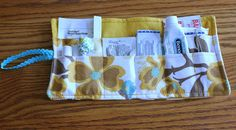 Quick Handmade Gift: DIY Travel First Aid Kit - great item to keep in your car and/or purse