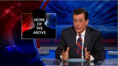 """Stephen Colbert """"truthiness"""" study has important implications... it suggests that readers are more likely to believe that a story in a newspaper or on television is true if it is accompanied by photographs — even if those photographs do not provide any evidence that the story is true. """"Decorative photos grab people's attention,""""... Newman: """"Our research suggests... photos might have unintended consequences, leading people to accept information because of their feelings rather than the facts...."""