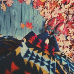Favorite fall @seychellesshoes boots and Pendleton coat ❤️ (at )