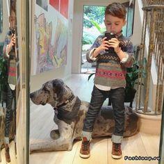 Alonso Mateo - пятилетний модник