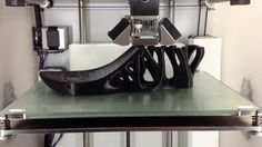 Ever wonder how 3D-printed shoes are made? Check out this time lapse. #3Dprinting #Fashion #Sandals