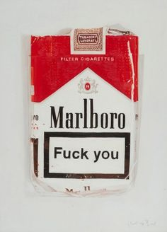 ➰EXPRESS. (I) Angry cigarro