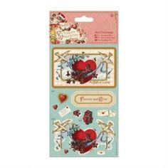 Mini Decoupage - Victorian Valentine - Heart