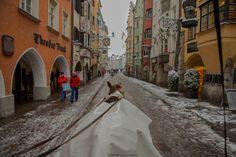 Innsbruck / old town Innsbruck, Old Town, Explore, Landscape, Old City, Scenery, Corner Landscaping, Exploring