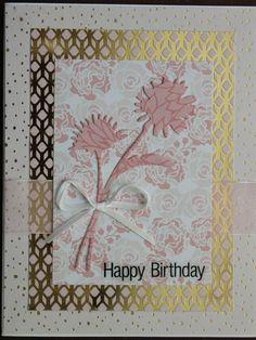 Hand Made, Birthday, Happy, Greeting, Card by LibbysCraftStudio on Etsy