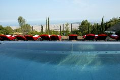Stunning views from the pool at the Gran Hotel La #Florida