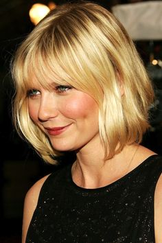 Image result for bob with bangs for oval face