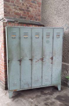 Vintage Spind, Vintage Schrank, Vintage Industriespind, Industriedesign,  Arztschrank, Industrie Design, Shabby Chic, Fabrik Spind, U2026