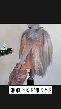 Down Hairstyles, Pretty Hairstyles, Easy Hairstyles, Hair Cutting Videos, Hair Videos, Cut My Hair, Hair Cuts, Hair Affair, Aesthetic Hair