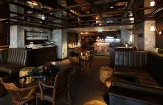 Blind Pig  58, Poland St, London W1F 7NS  Next door to the Social Eating House. Look out for the blindfolded boar door knocker and ask for Gareth Evans.  A genuinely cool speakeasy