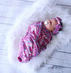 Tribal Joy Swaddle Blanket <3