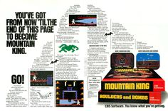 Become the Mountain King (1983).#retrogaming#bitstory