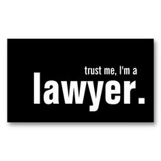 Humorous Lawyer Business Card Templates #funny #lawyer #businesscard