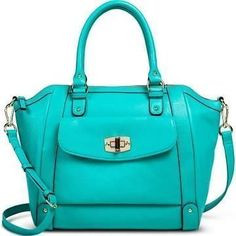 c5f124b569 Merona turquoise purse - Target #pursestarget Cute Handbags, Handbags On  Sale, Purses And