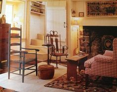 Decorating In The Primitive Colonial Style Pinterest Primitives And