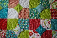 Adorable Modern Baby Quilt. $100.00, via Etsy.