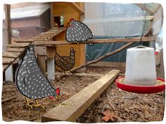 the garden-roof coop: Community Chickens Post ~ Cool Coops! - Lucy's Special Needs Coop (and a GIVEAWAY!)