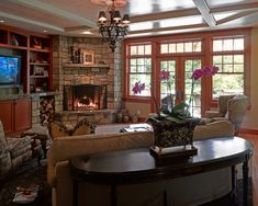 Family Room Family Room Layout Design, Pictures, Remodel, Decor and Ideas - page 3
