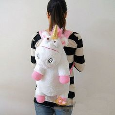 Despicable Me Unicorn Agnes Plush Backpack - 40% off! Take home a Limited Edition Despicable Me Unicorn Agnes Plush Backpack We want you to have it 40% off the original price! Buy with confidence! Lim