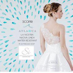Vieni a scoprire la nuova linea #atlahua di #abitidasposa resistenti #allacqua e alle #macchie ....creata e realizzata con un tessuto di nostra concezione che presenteremo in #anteprima alla fiera di #milano #sisposaitalia #highquality #tecnologic #bridal #madeinitaly #happiness #handmadefashion #weeding #fotografomatrimonio #follow4follow #followme #marriage #weddingplanner #flowergirl #istawedding #white #congratulations #istagram #fashiondesigner @lesposedicarol
