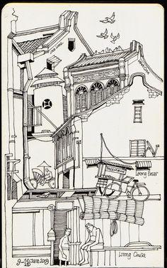 Georgetown, Penang (top) by Liyin Yeo
