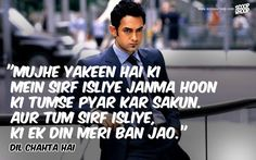 50 Bollywood Romantic Dialogues That Will Make You Fall In Love All Over Again Star Quotes, Lyric Quotes, Movie Quotes, Qoutes, Hindi Quotes, Romantic Dialogues, Love Dialogues, Bollywood Quotes, Bollywood Songs