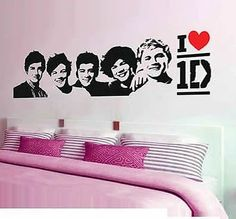 One Direction Wall Decorative Sticker. This One D Wall Decal Is The Perfect  Addition To Any Wall! | Wall Art Stickers | Pinterest | Wall Decals, ... Part 65