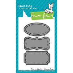 Lawn Cuts - Stitched Labels DIES