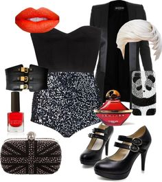 """""""Pin Up"""" by launet on Polyvore"""