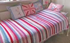 granny stripes  #crochet