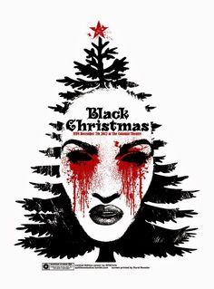 Black Christmas, run December 2012. Custom print by Chris Garofalo