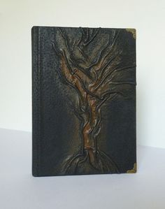Black Journal Leather Diary Writing A5 Christmas by AnnaKisArt  #blackjournal, #A5, #leatherjournal, #treeoflife, #notebook, #giftformen, #giftforwomen, #giftforguy, #giftforgirl, #traveljournal, #giftforboy, #writingjournal, #leatherdiary, #journaldiary, #leathergift, #diary,