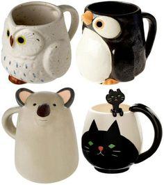 Animal Tea Cups