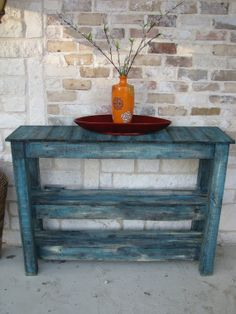 FREE SHIPPINGRustic Sofa Table Console by RusticExquisiteDsgn, $395.00
