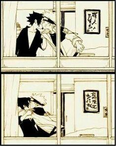 ~ Sasuke x Naruto Naruto Vs Sasuke, Itachi Uchiha, Anime Naruto, Anime W, Naruto Comic, Naruto Cute, Naruto Funny, Naruto Shippuden Anime, Haikyuu Anime