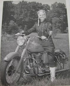 letsride:  Motor Maid on her Indian