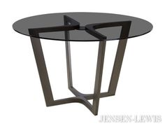 The Chelsea Round Dining Table at Jensen Lewis Furniture