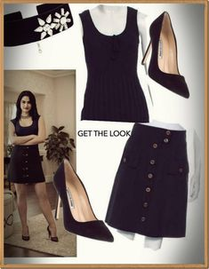 GET THE LOOK  RIVERDALE - VERO - #riverdaleveronicastyle Riverdale Veronica, Waist Skirt, High Waisted Skirt, Get The Look, Skirts, Style, Fashion, Swag, Moda