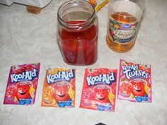 Kool-Aid dying - Step by Step Patterns & Tutorials - Fly Tying