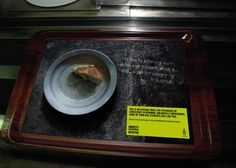 Average meal for prisoners – Amnesty International « Creative Advertisements for NGO