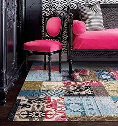 FLOR spring 2012 collection: Watch This, modular carpet tiles