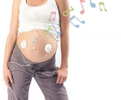 Belly Buds! Play music to your unborn child haha