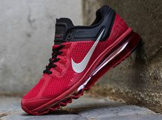 Nike Air Max+ 2013 – Gym Red – Reflective Silver – Black